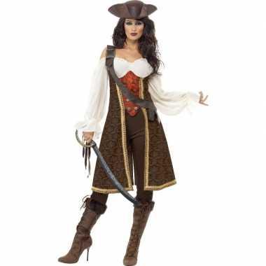 Luxe jack sparrow kostuum voor dames