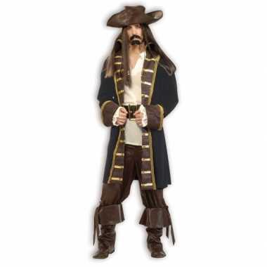 Luxe jack sparrow kostuum voor heren
